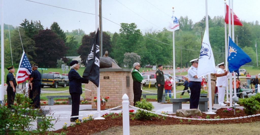 Schuyler County Veterans Memorial Park - Colorguard