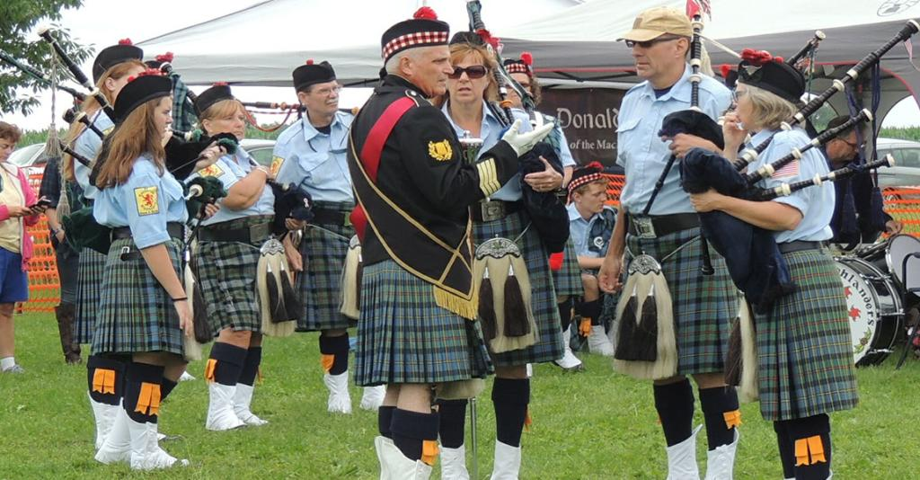 Scottish-American Society of the Southern Tier - Bagpipers