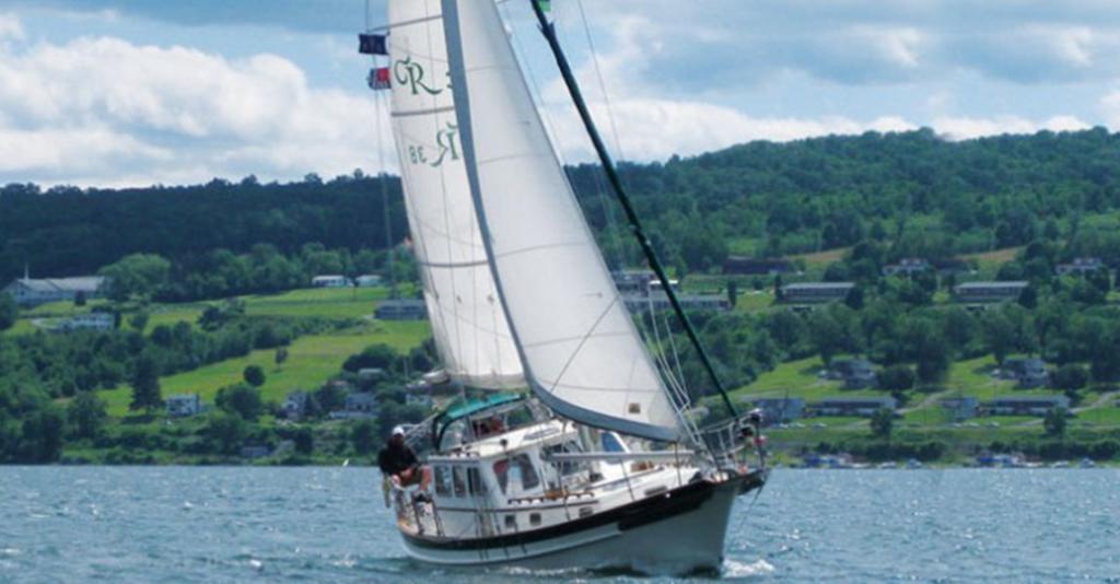 Seneca Sailing Adventures - Sailboat on Seneca