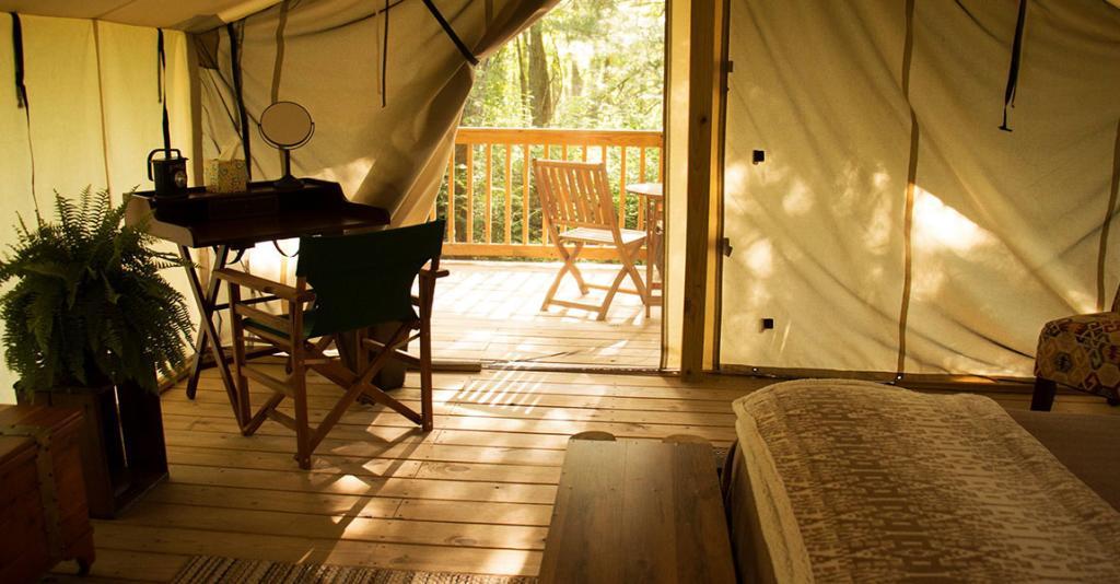 Seneca Sol - Glamping Tent Interior