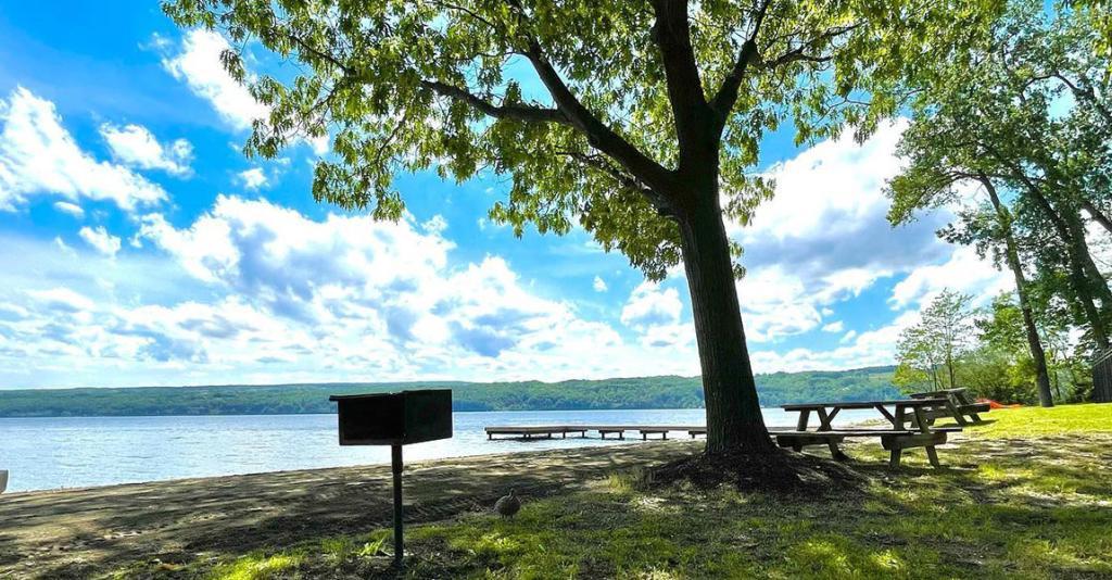 Smith Memorial Park - Picnic Area with Seneca Lake View