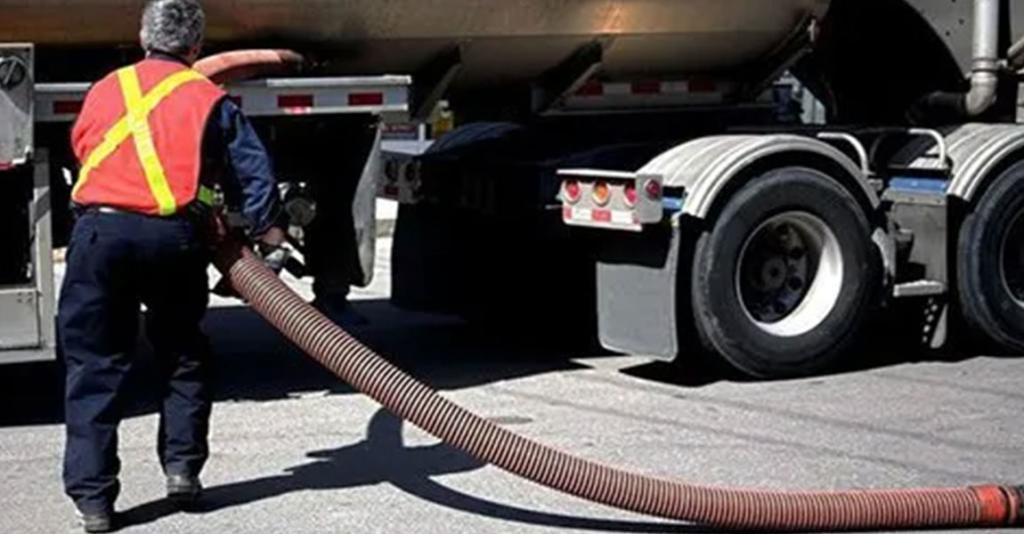 Stewart P. Wilson - Fuel Delivery Truck