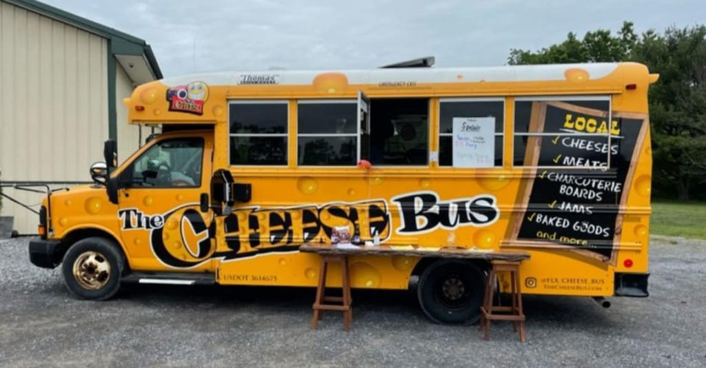 The Cheese Bus - Logo Bus