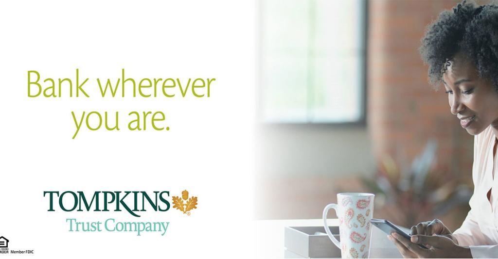Tompkins Trust Company - Logo Banner