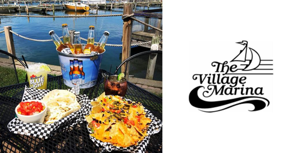 Village Marina Bar & Grill - Logo Banner