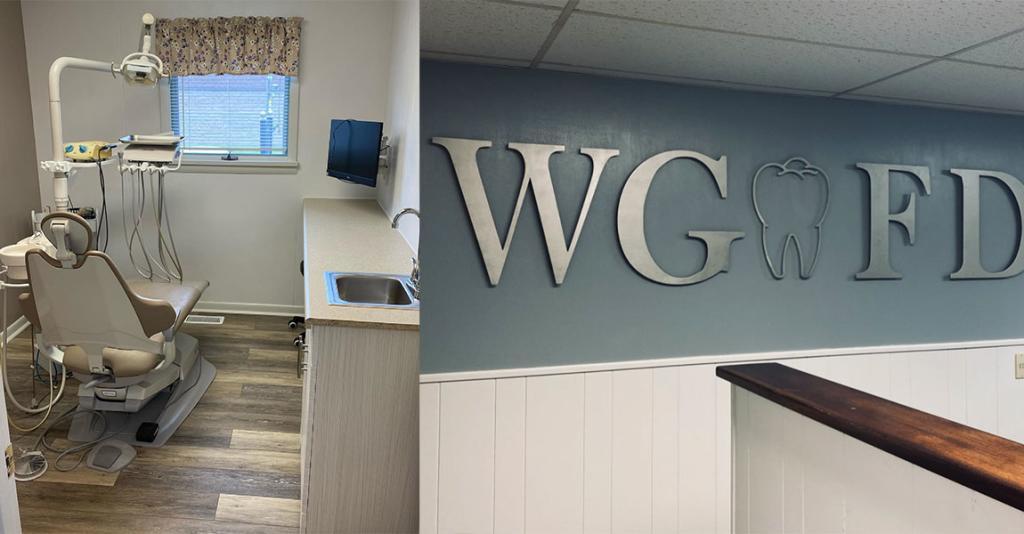 Watkins Glen Family Dentistry - Logo & Exam Room
