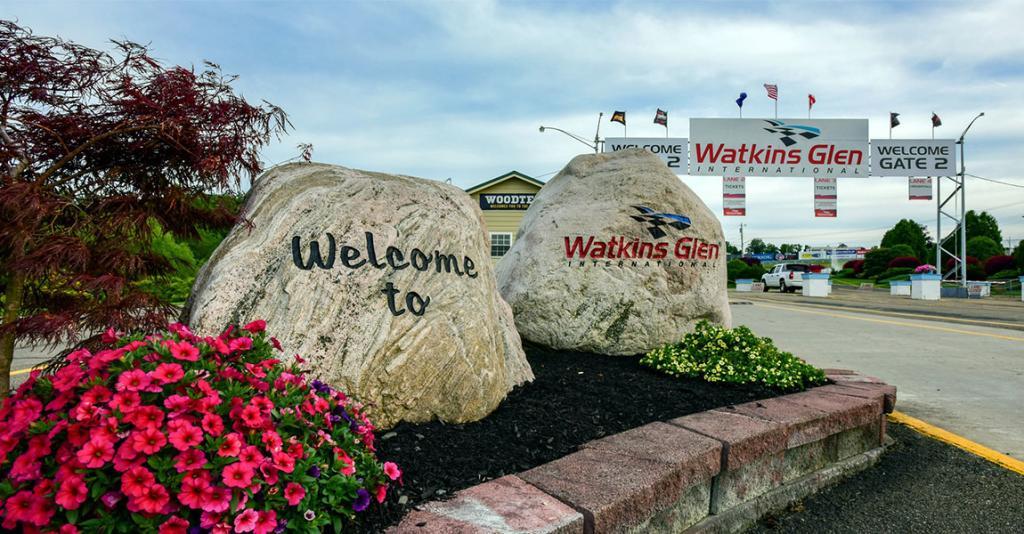 Watkins Glen International - Gate 2 Entrance