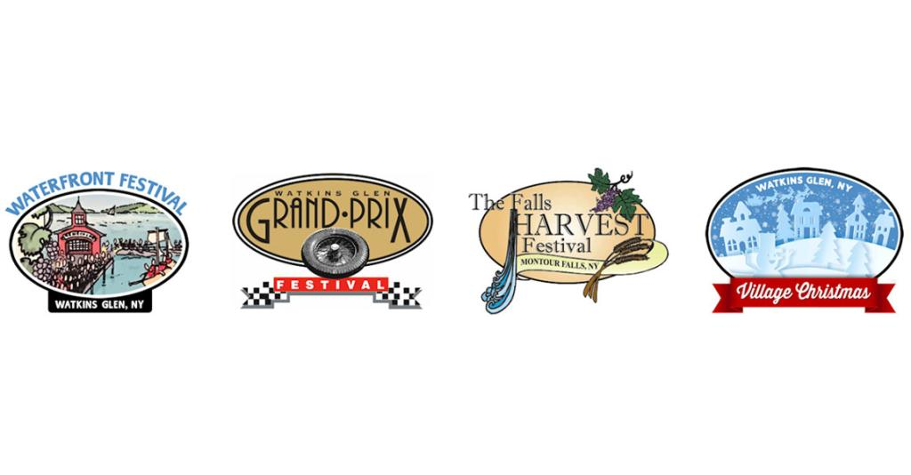 Watkins Glen Promotions - Event Logos