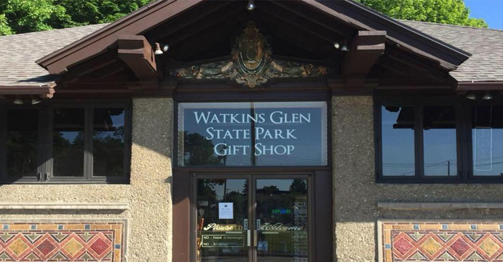 Watkins Glen State Park Gift Shop - Building Exterior