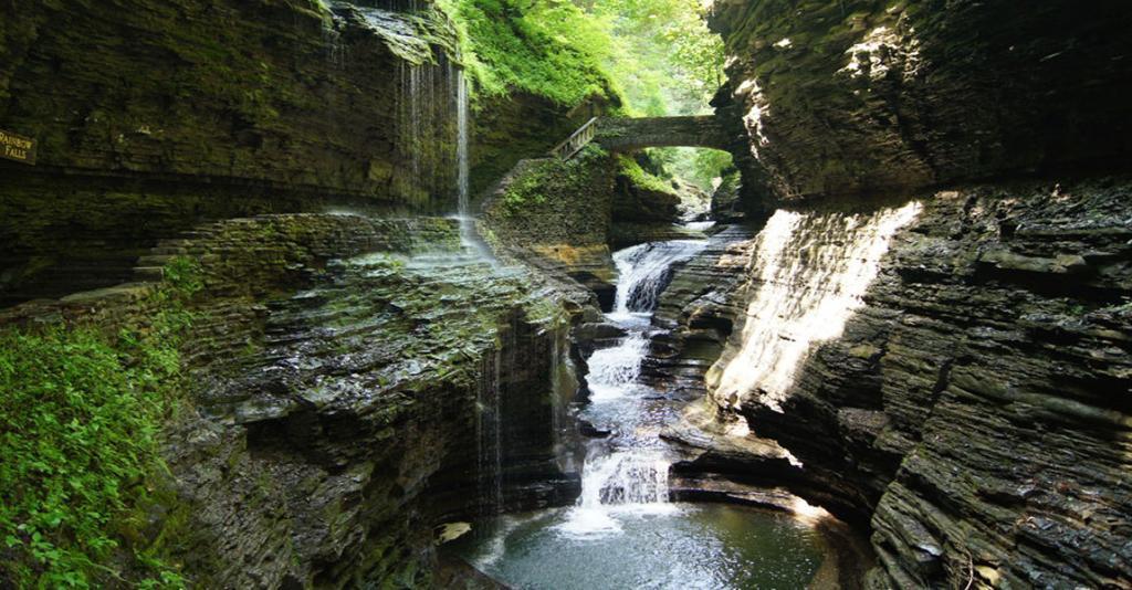 Watkins Glen State Park - Trail & Waterfall
