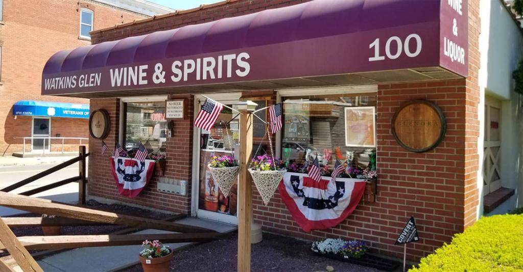 Watkins Glen Wine & Spirits - Building Exterior