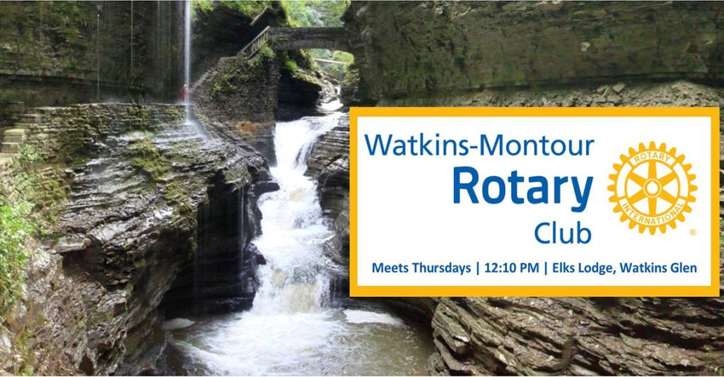 Watkins-Montour Rotary Club - Logo Banner