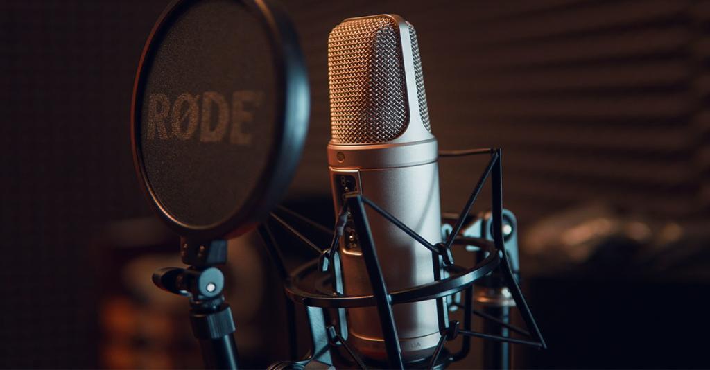 William J Sitzman Consulting - Radio Booth Microphone