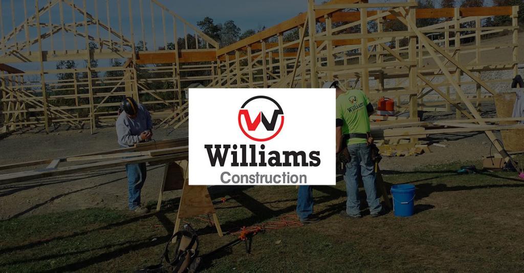 Williams Construction - Logo Banner