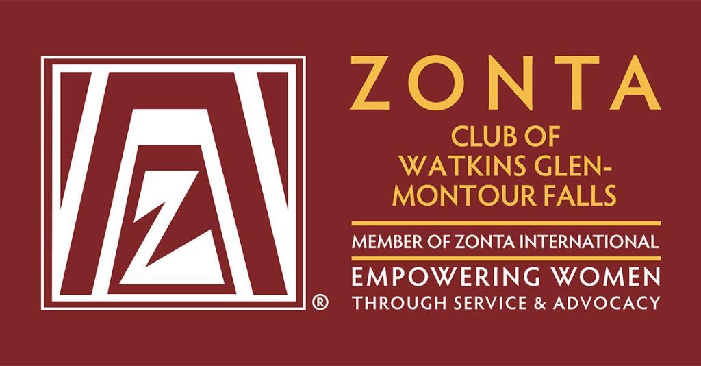 Zonta International - Watkins Glen Logo Banner