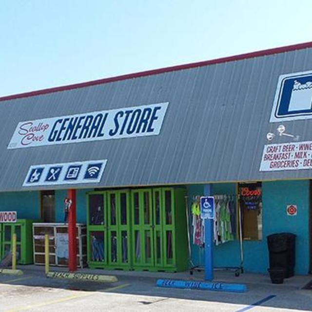 Store front of Scallop Cove