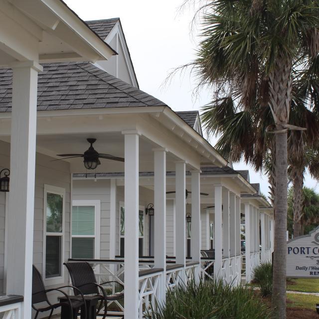 Port Cottages Outside
