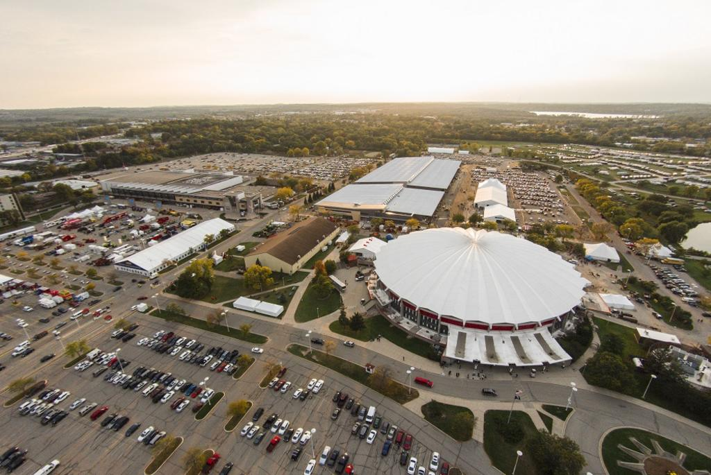 Alliant Energy Center Aerial