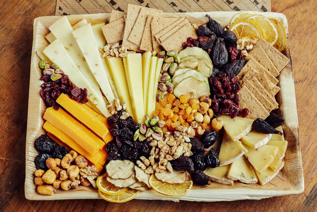 Fromagination creates beautiful Wisconsin cheese trays