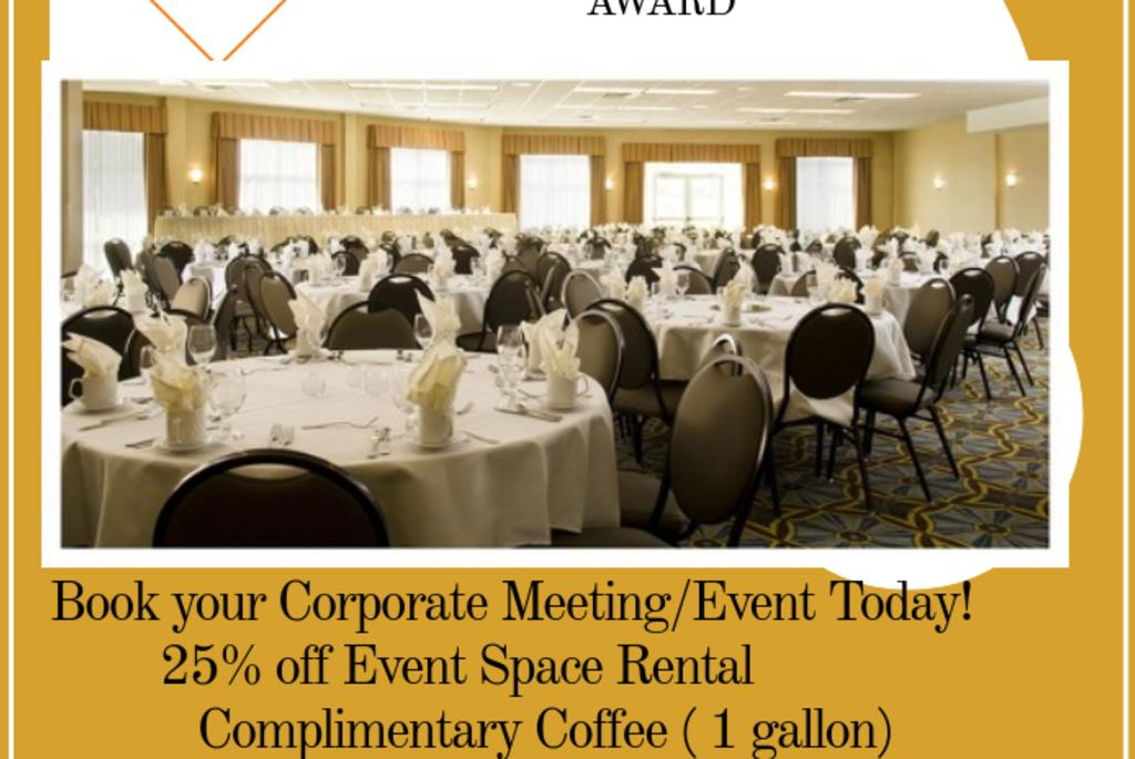 Book your Corporate Event/Meeting Today