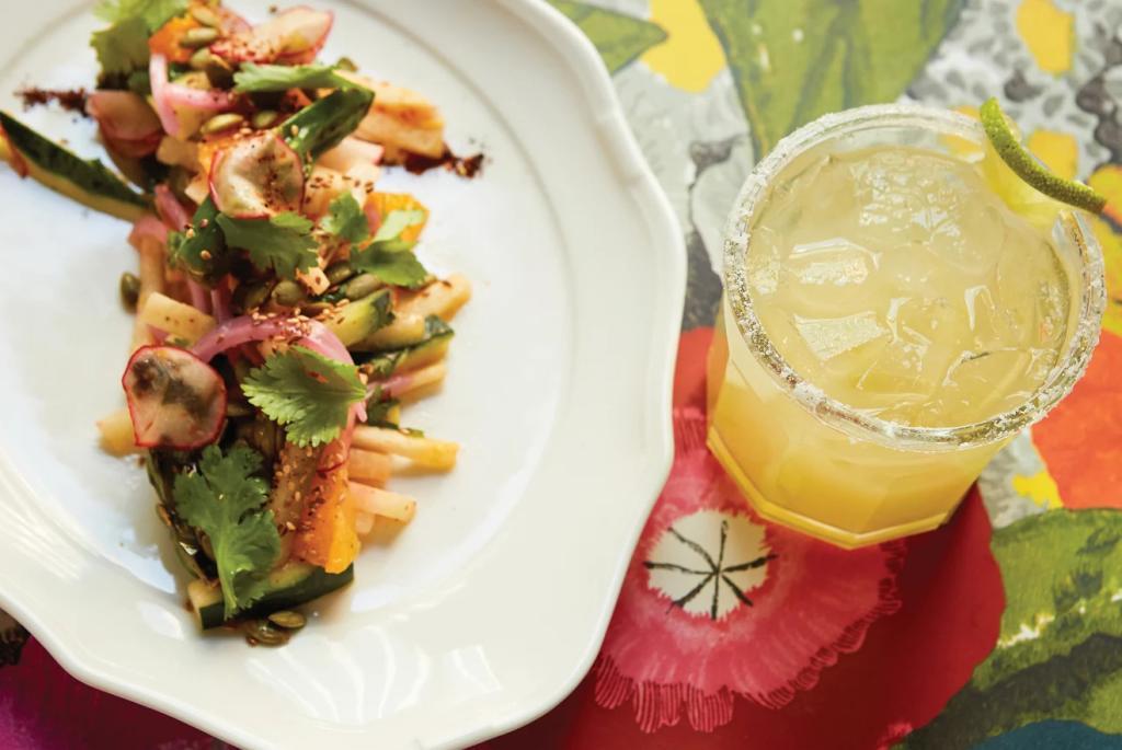 Jicama Salad & Cocktail