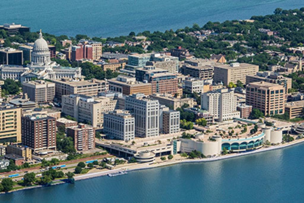 Monona Terrace and Downtown Madison