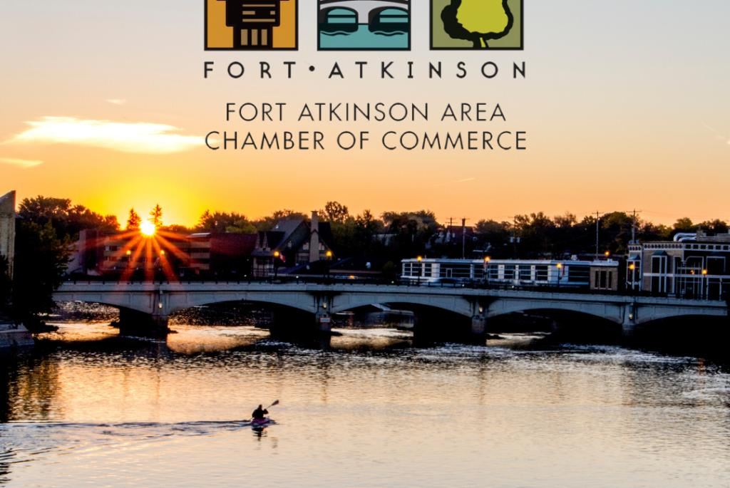 Downtown Fort Atkinson & Rock River