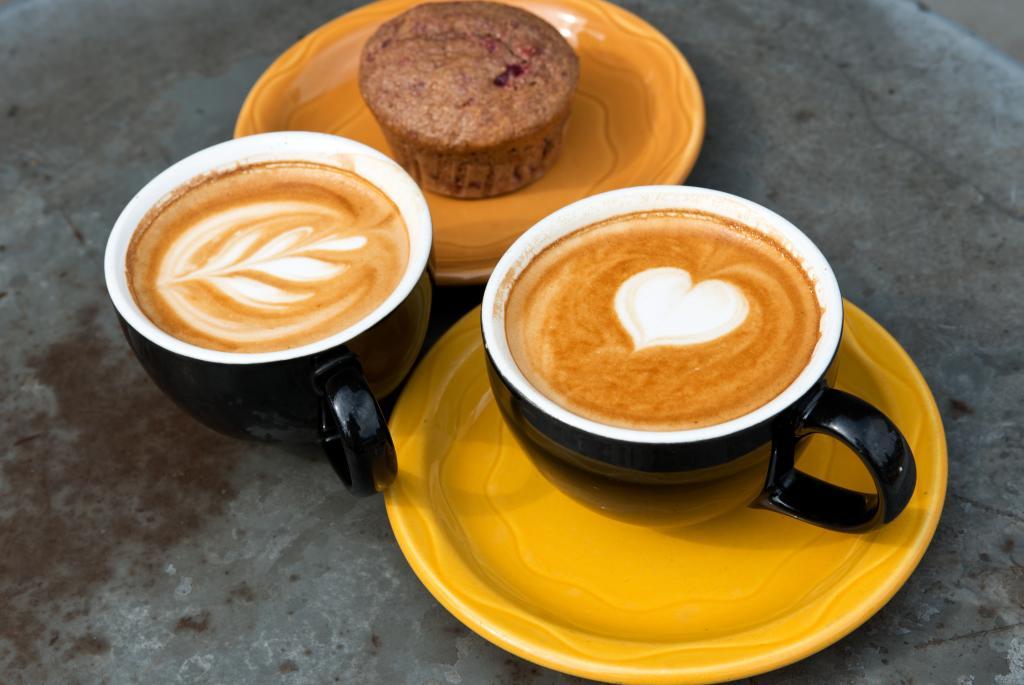 Latte & Muffin
