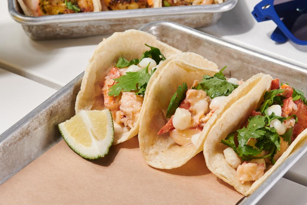 #bartacosecret lobster taco