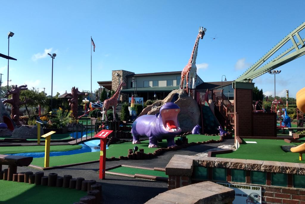Outdoor Miniature Golf
