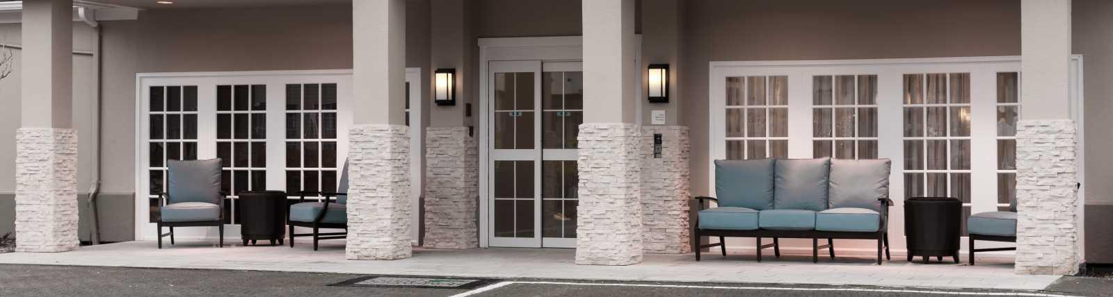 Hotel Main Entrance