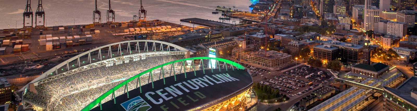 Century Link Field Nighttime