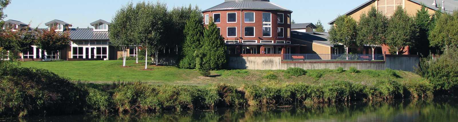 Tukwila Community Center & Duwamish River