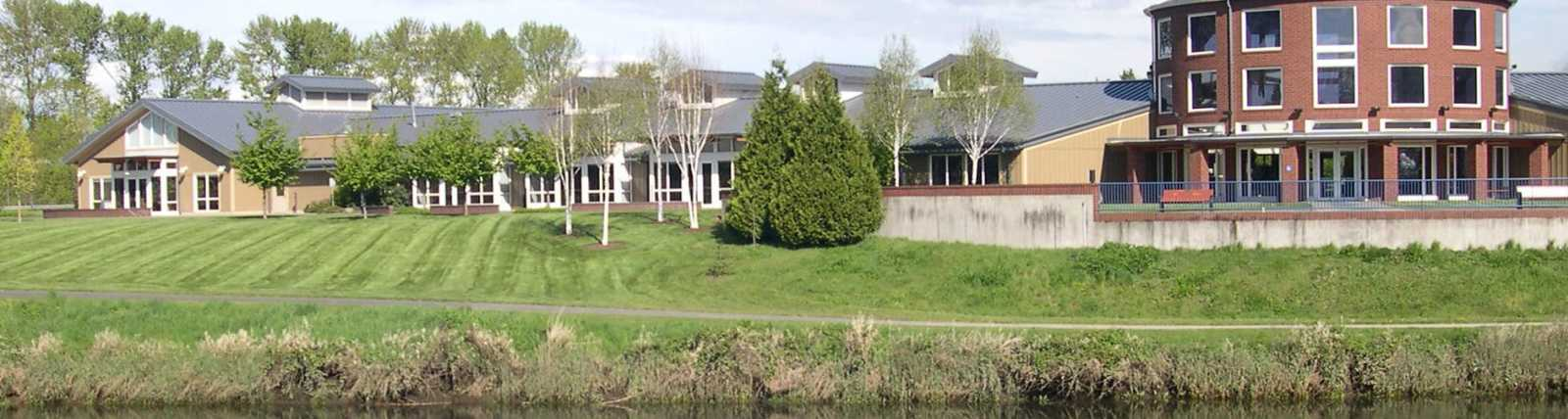 Tukwila Community Center & Duwamish River