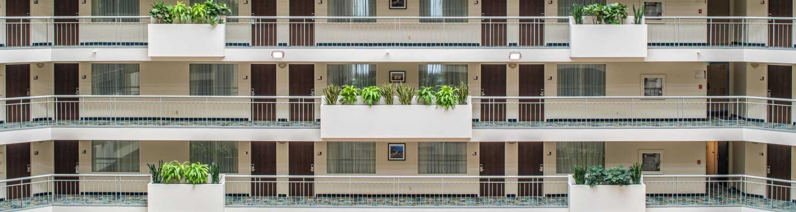 Newly transformed atrium