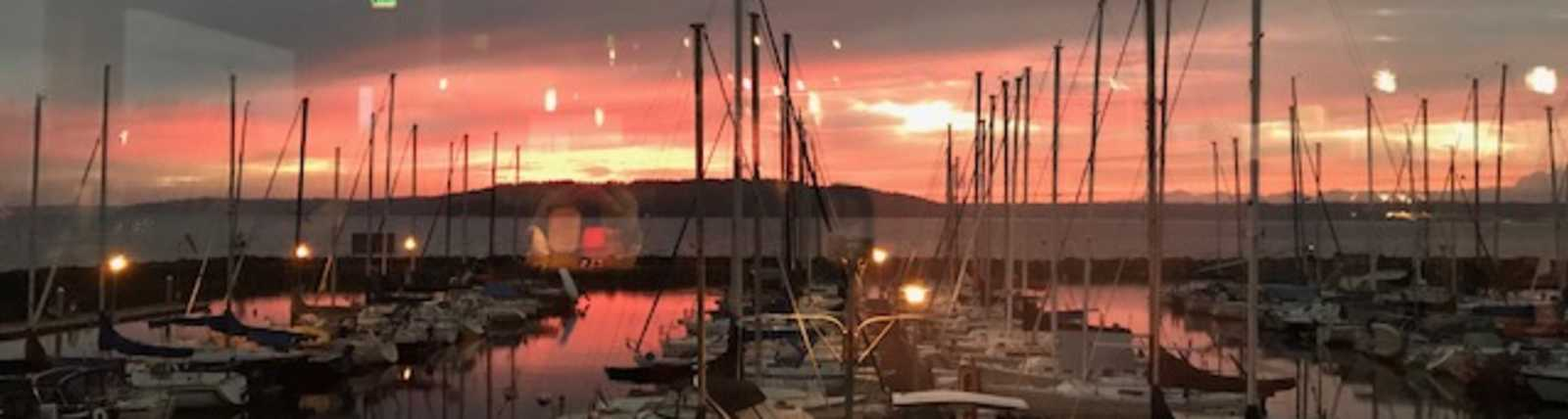 Sunset at Anthony's HomePort