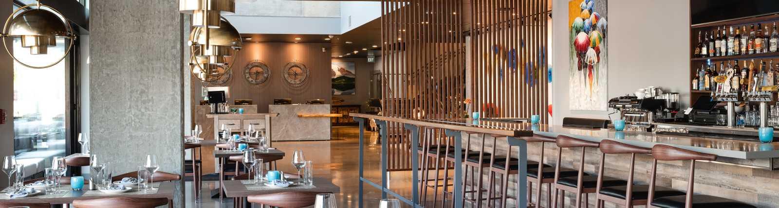 Waterleaf Restaurant & Bar Interior