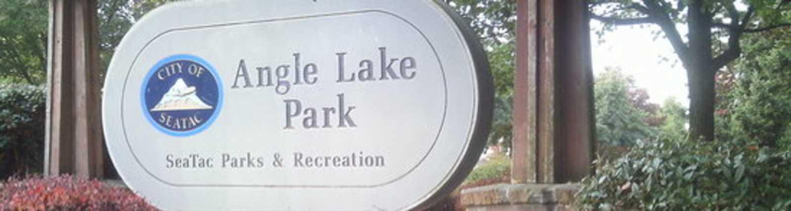 angle lake sign