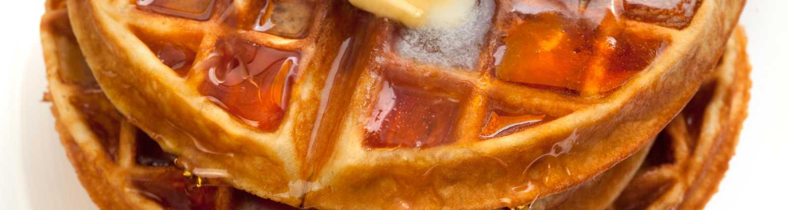 Our complimentary breakfast includes hot, fresh waffles!
