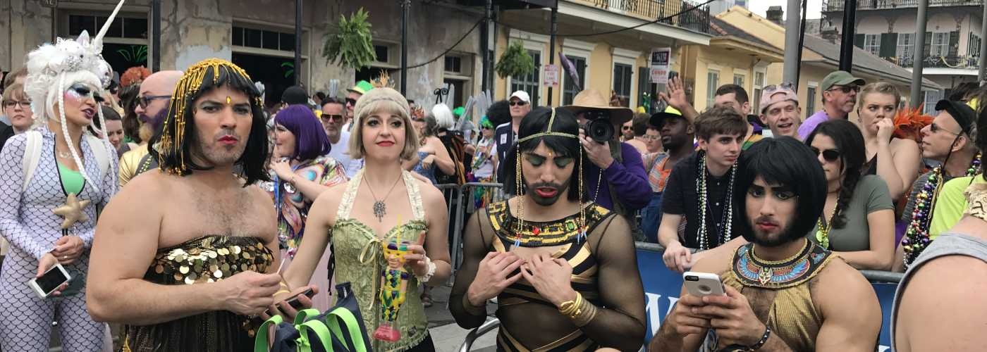 Gay Pride Halloween Costume.Bourbon Street Awards Gay Mardi Gras New Orleans