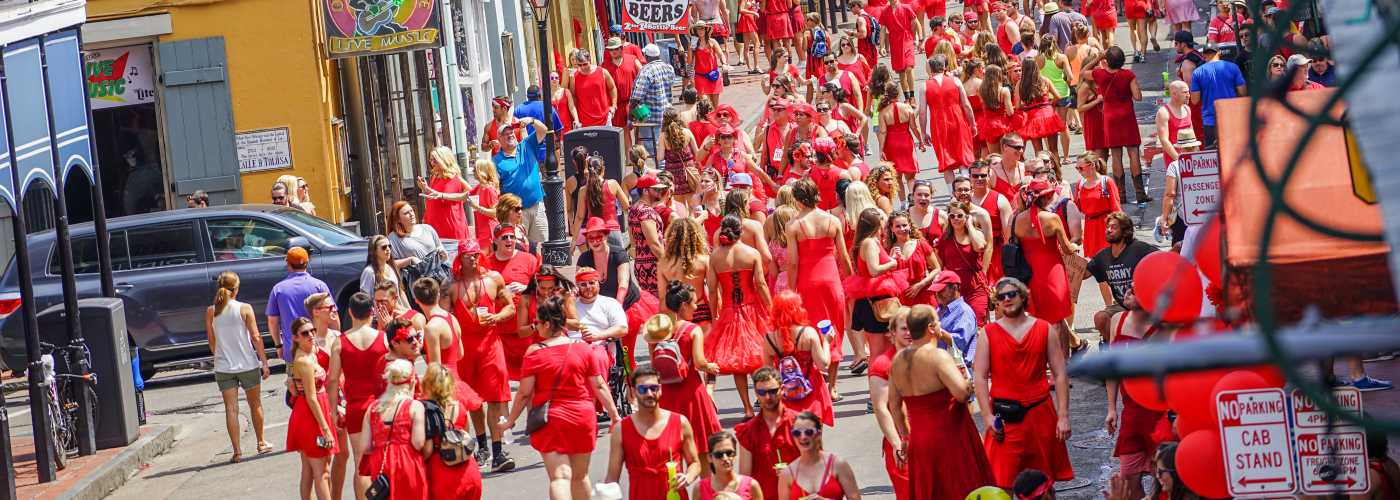 Red Dress Run | New Orleans