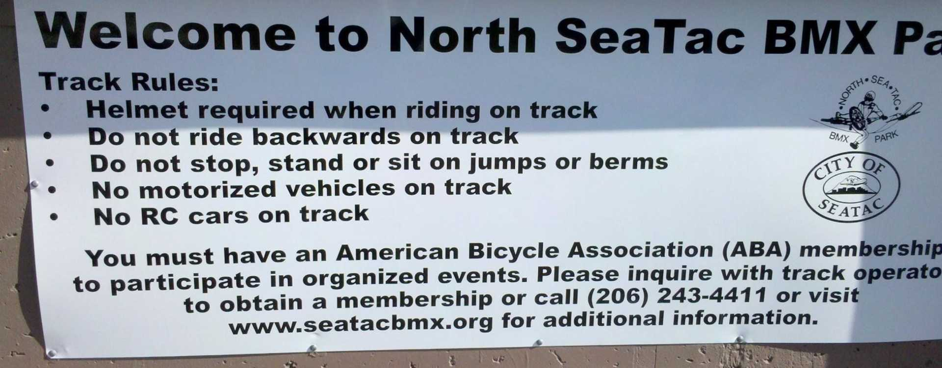 North SeaTac BMX Club