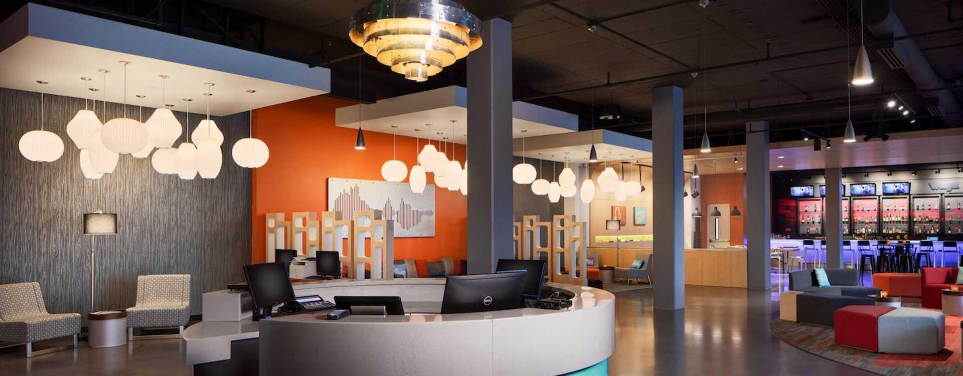 Aloft Lobby