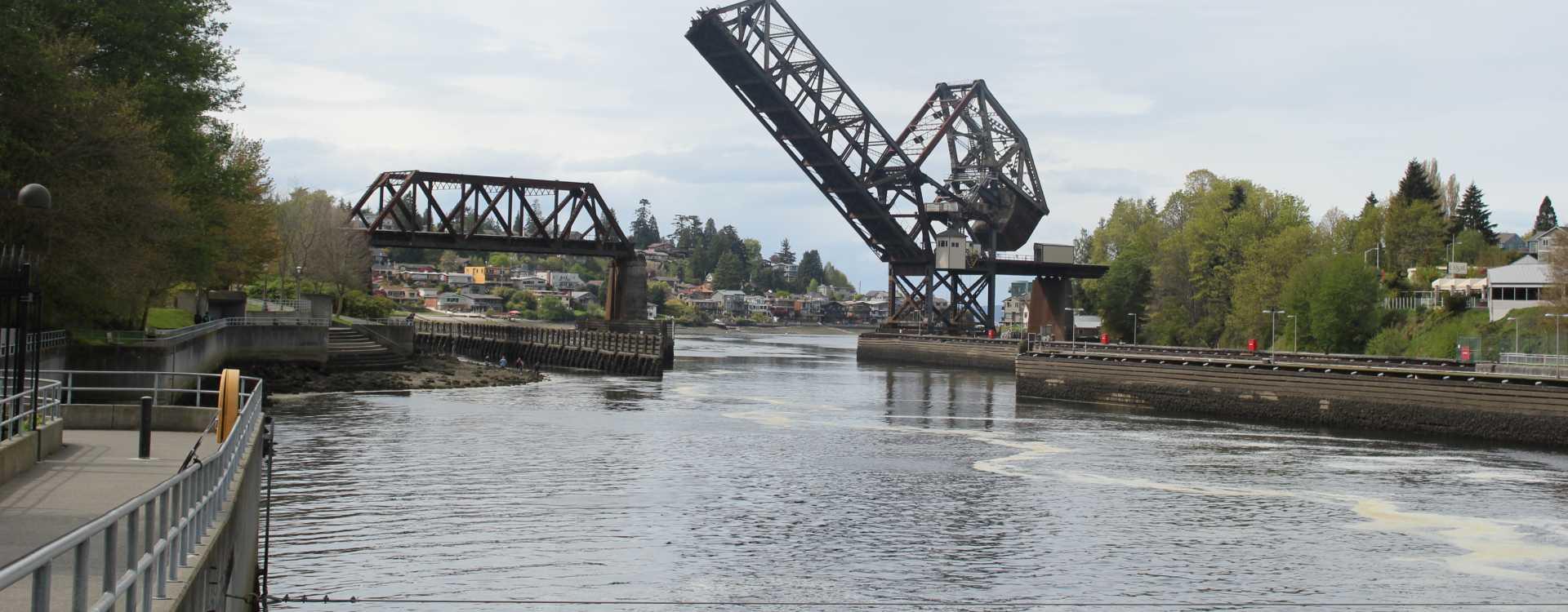 Hiram M. Chittenden Locks in Ballard