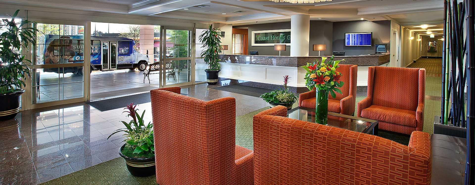 Coast Gateway Hotel Lobby