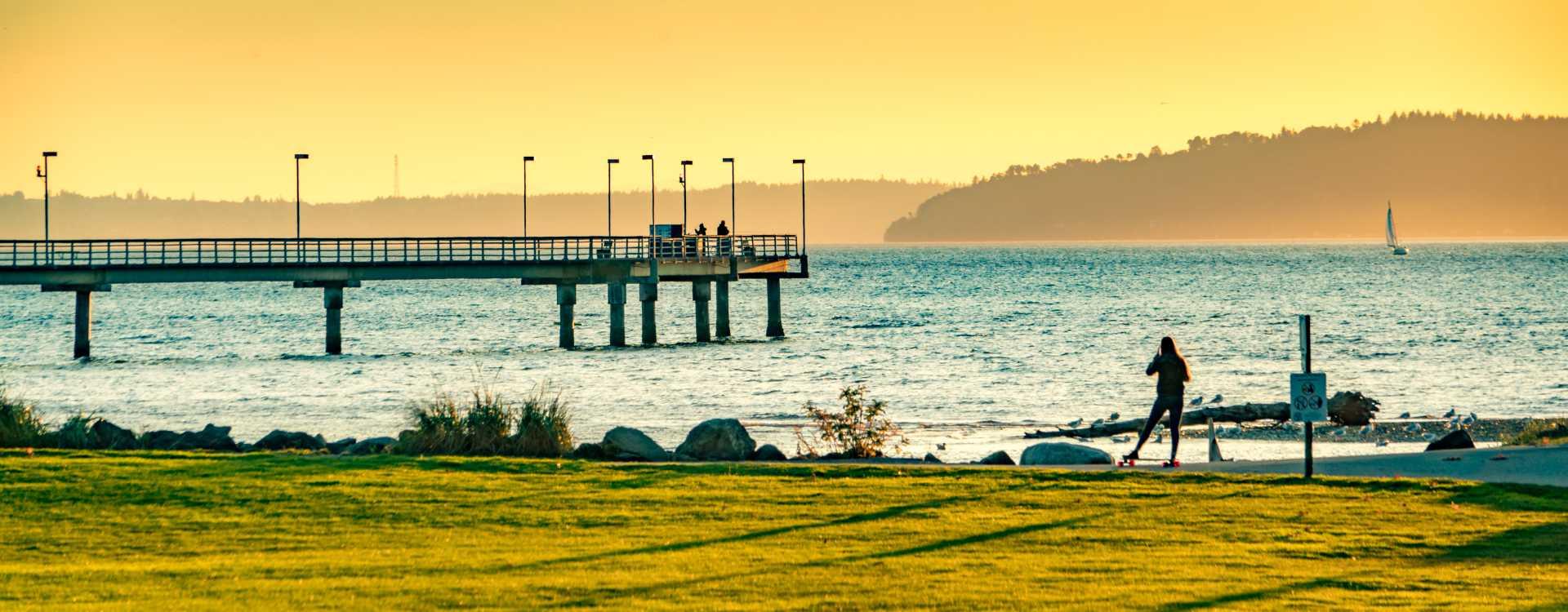 Des-Moines-Beach-Park-Sunset