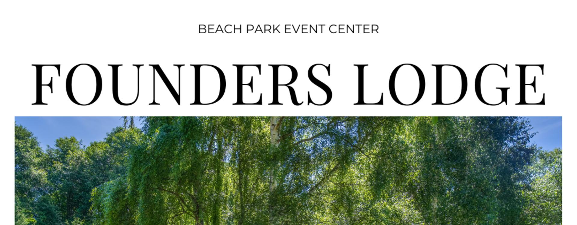 Des Moines Beach Park Founders Lodge