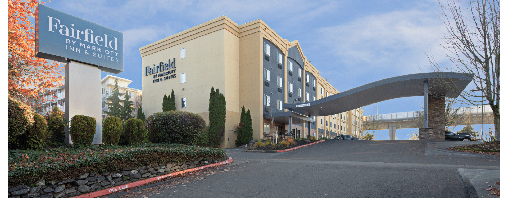Exterior view of Fairfield Inn by Marriott Seattle Sea-Tac Airport