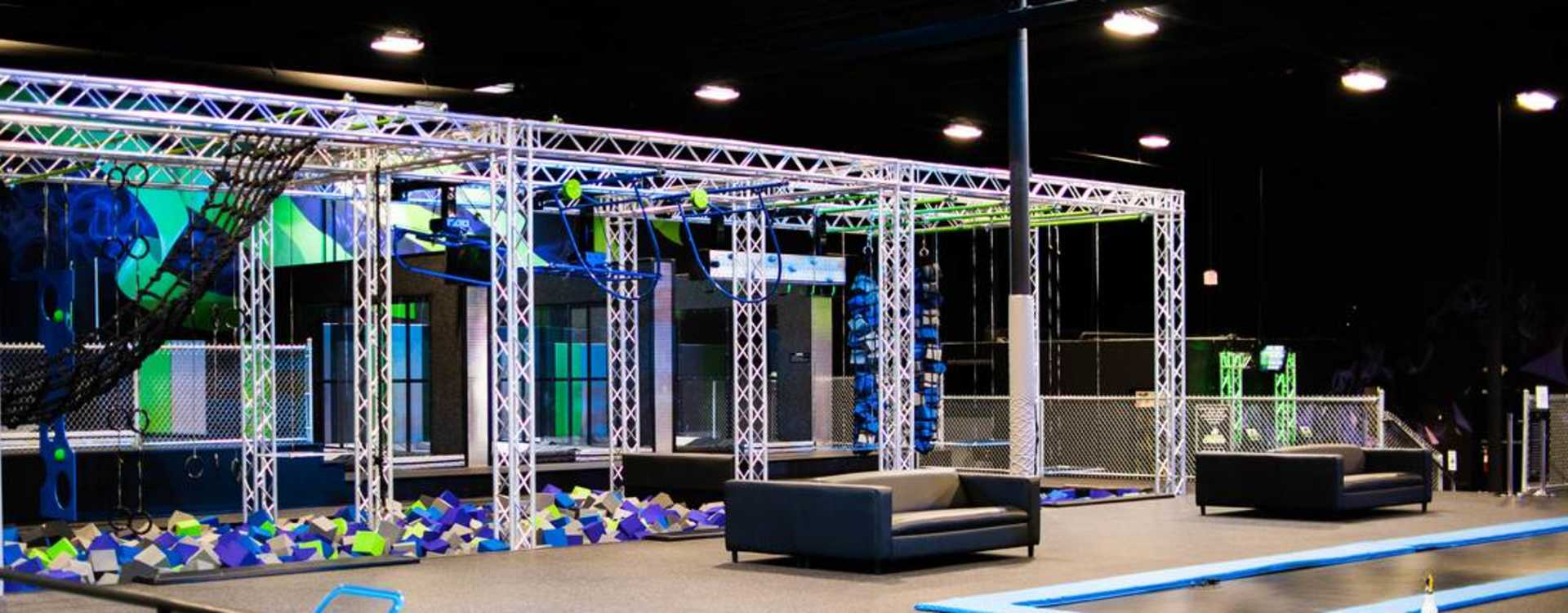 Trampolines & Obstacle Course