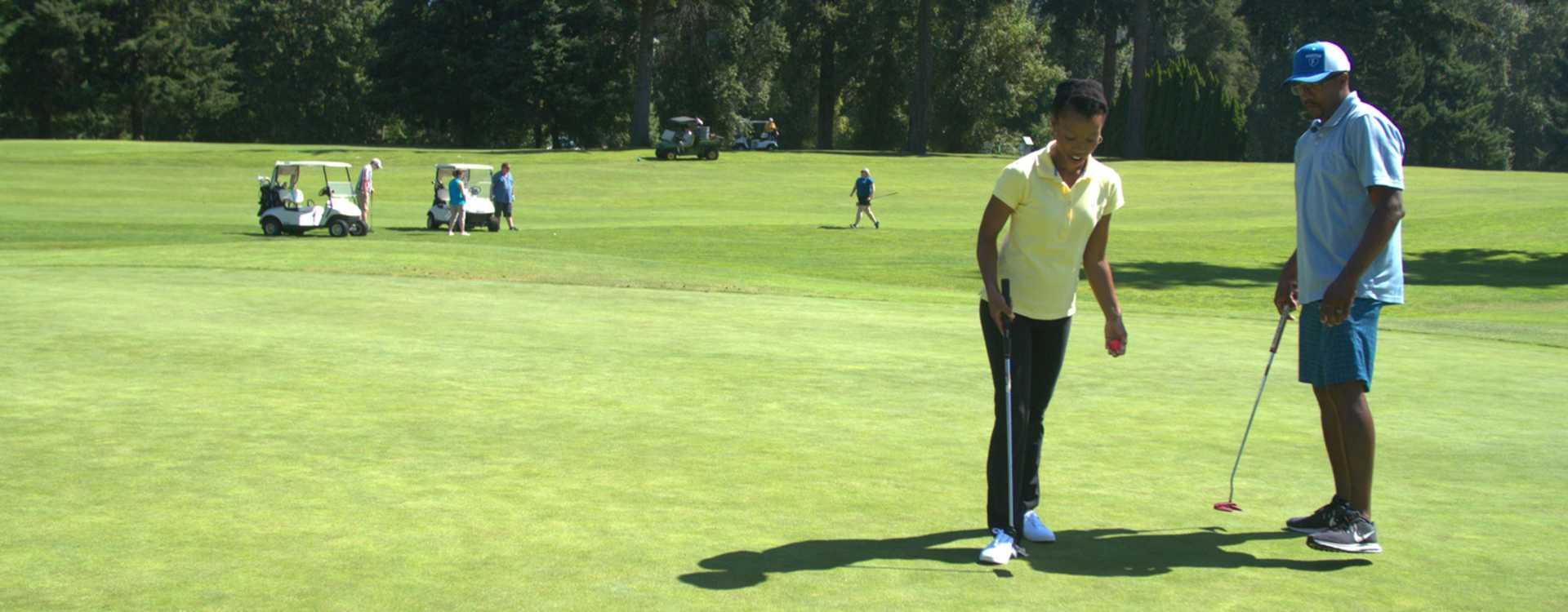 Foster Golf Links in Tukwila